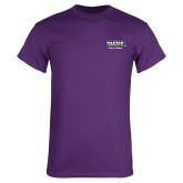 Purple T Shirt-Kaeser Primary Mark