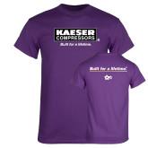 Purple T Shirt-Kaeser