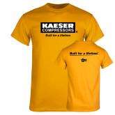 Gold T Shirt-Kaeser