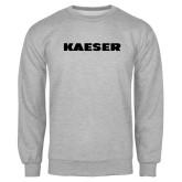 Grey Fleece Crew-Kaeser