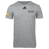 Adidas Sport Grey Logo T Shirt-Kaeser Primary Mark