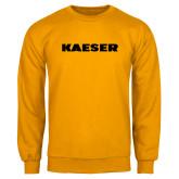 Gold Fleece Crew-Kaeser