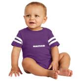 Vintage Purple Jersey Onesie-Kaeser