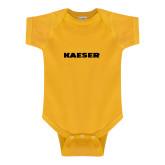Gold Infant Onesie-Kaeser