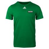 Adidas Kelly Green Logo T Shirt-Kaeser Primary Mark