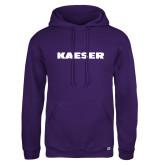 Russell DriPower Purple Fleece Hoodie-Kaeser