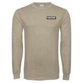 Khaki Gold Long Sleeve T Shirt-Kaeser Primary Mark