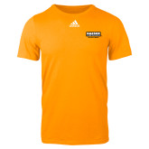 Adidas Gold Logo T Shirt-Kaeser Primary Mark