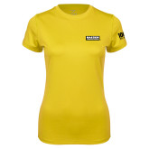 Ladies Syntrel Performance Gold Tee-Kaeser Primary Mark