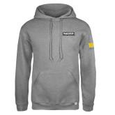 Russell DriPower Grey Fleece Hoodie-Kaeser Primary Mark