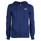 ENZA Ladies Royal Fleece Full Zip Hoodie-Kaeser w tagline