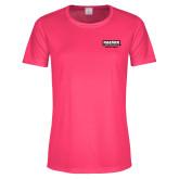 Ladies Performance Hot Pink Tee-Kaeser Compressors
