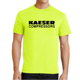 Safety Green T Shirt-Kaeser Compressors