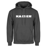 Charcoal Fleece Hoodie-Kaeser