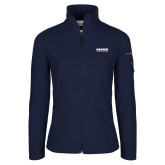 Columbia Ladies Full Zip Navy Fleece Jacket-Kaeser Compressors