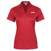 Ladies Red Performance Fine Jacquard Polo-Kaeser Compressors