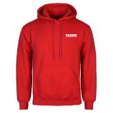 Red Fleece Hoodie-Kaeser Compressors
