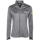 Ladies Callaway Stretch Performance Heather Grey Jacket-Kaeser Compressors