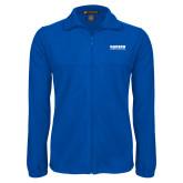 Fleece Full Zip Royal Jacket-Kaeser Compressors
