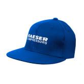 Royal Flat Bill Snapback Hat-Kaeser Compressors