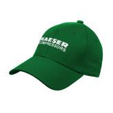 Kelly Green Heavyweight Twill Pro Style Hat-Kaeser Compressors