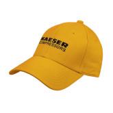 Gold Heavyweight Twill Pro Style Hat-Kaeser Compressors