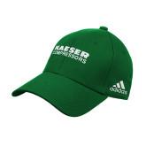 Adidas Kelly Green Structured Adjustable Hat-Kaeser Compressors