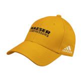 Adidas Gold Structured Adjustable Hat-Kaeser Compressors