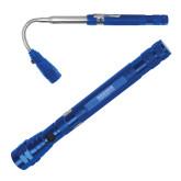 Telescoping Blue Flex Flashlight-Kaeser Compressors Engraved