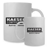 Full Color White Mug 15oz-Kaeser w tagline