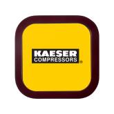 Square Coaster Frame w/Insert-Kaeser Primary Mark