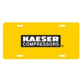 License Plate-Kaeser Primary Mark