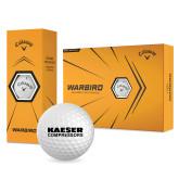 Callaway Warbird Golf Balls 12/pkg-Kaeser Compressors