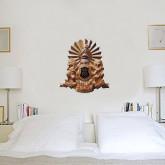 2 ft x 4 ft Fan WallSkinz-Coat of Arms Emblem