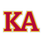 Medium Decal-Two Color KA, 8 inches wide