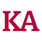 Large Decal-KA, 12 inches wide