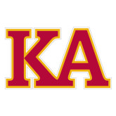 Large Decal-Two Color KA, 12 inches wide