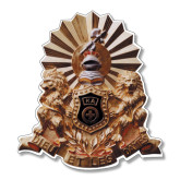 Large Decal-Coat of Arms Emblem, 12 inches tall