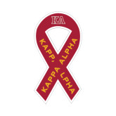 Ribbon Decal-KA, 8 in tall, 4.2 in wide