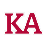 Small Decal-KA, 6 inches wide