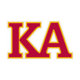 Small Decal-Two Color KA, 6 inches wide