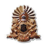 Small Decal-Coat of Arms Emblem, 6 inches tall