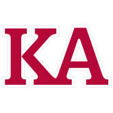 Extra Large Decal-KA, 18 inches wide