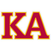 Extra Large Decal-Two Color KA, 18 inches wide