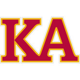 Super Large Decal-Two Color KA, 24 inches wide