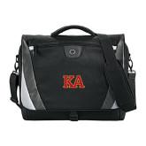 Slope Black/Grey Compu Messenger Bag-Two Color KA