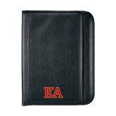 Insight Black Calculator Padfolio-Two Color KA