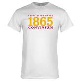 White T Shirt-KAO 1865 Convivum