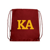 Cardinal Drawstring Backpack-KA