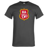 Charcoal T Shirt-KA 150 Shield